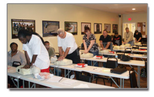American Heart Association First Aid CPR AED Class