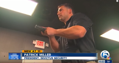 Invictus interviewed about Warning Shots on CBS West Palm Beach News